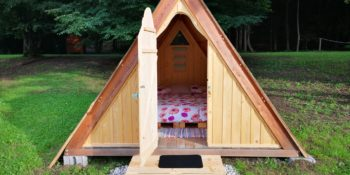 Wooden Glamp Cabin - Tent House