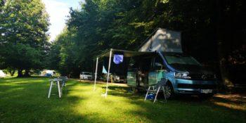 Tent Pitch & Campervan