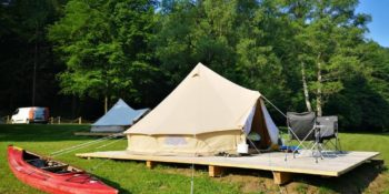 Deluxe Glamp Bell Tent